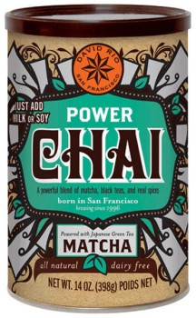 David Rio Power Chai Matcha 398g Dose