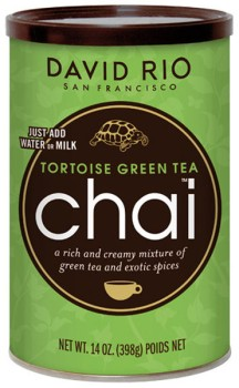 David Rio Tortoise Green Tea Chai 398 g