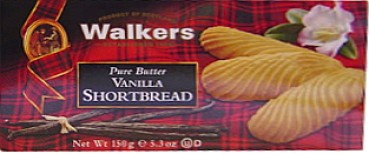 Walkers Shortbread Pure Butter Vanilla